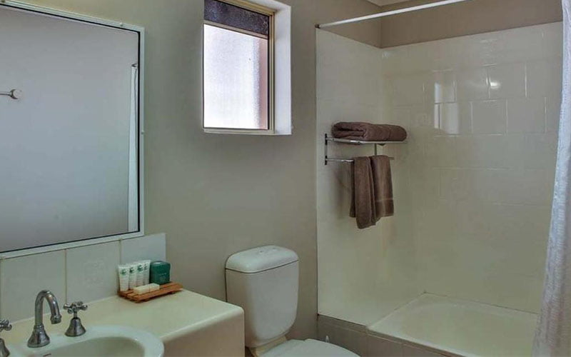 bathroom self contained apartment broome