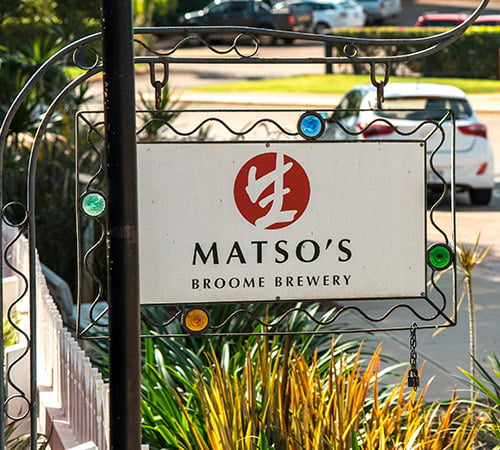 matsos broome brewery, broome food